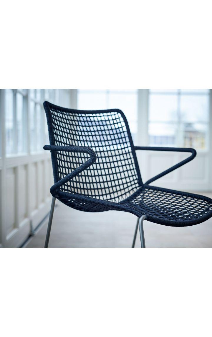 Chaise avec accoudoirs Slope-Weishäupl