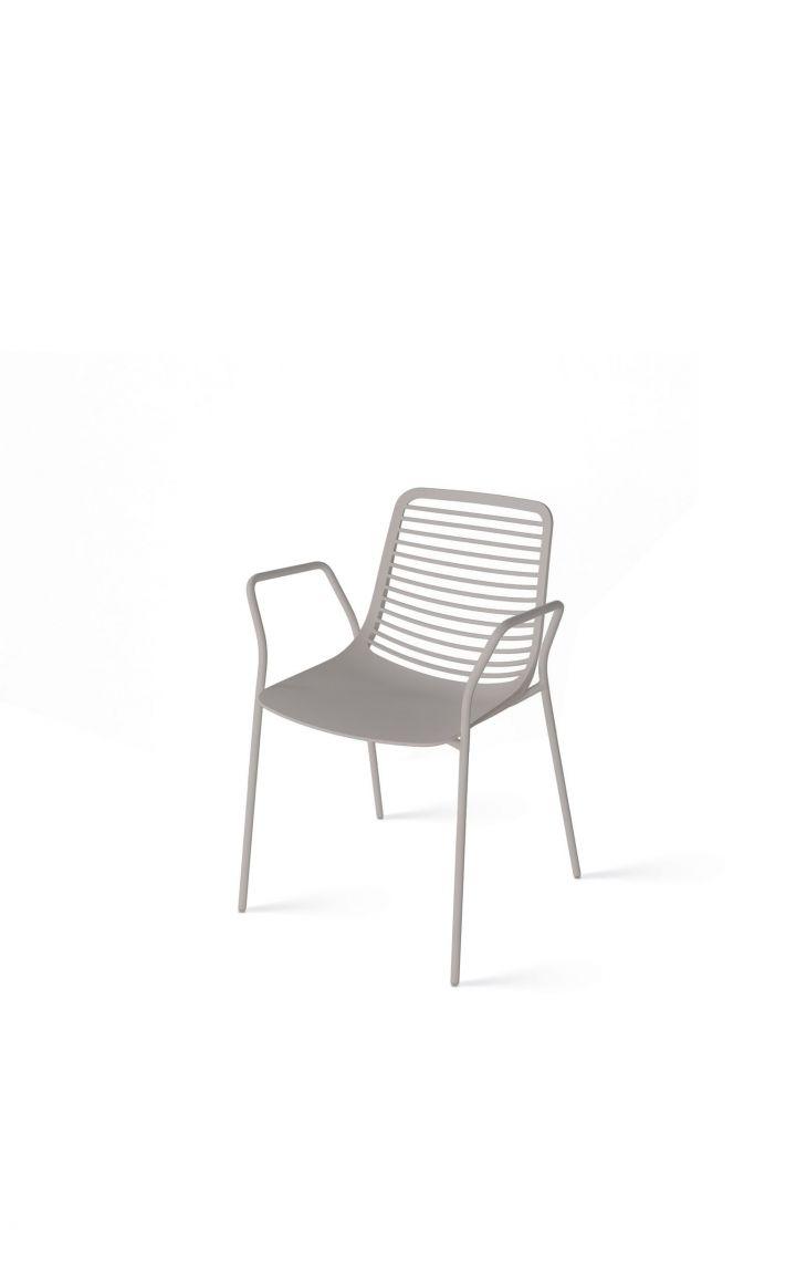Chaise avec accoudoirs Parri Mini Round
